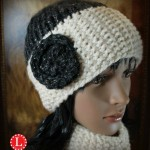 Seed Stitch Brim Hat with Matching Cowl – Free Patterns