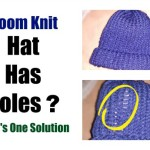 Loom Knit Hat Has Holes