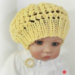 Three Step Stitch Baby Hat Pattern