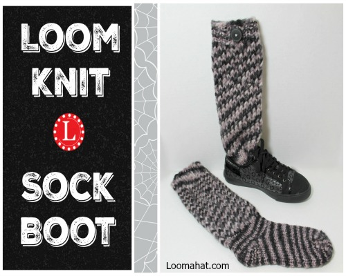 sock knitting loom instructions