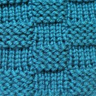 Garter Stitch Checks
