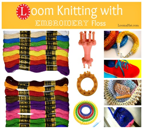 Knitting with Floss