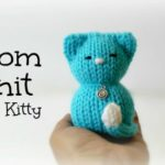 Tiny Kitty Cat Loom Knitting Video
