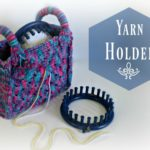 Loom Knit Yarn Holder Bag Video