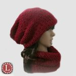 Simple Slouchy and Cowl Free Pattern and Video