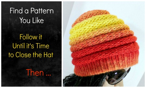 Turn ANY Hat Pattern into a Messy Bun Hat - LoomaHat.com 5144eaf4b80
