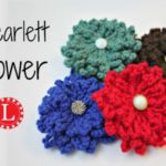 The Scarlett Flower Free Pattern and Video