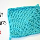 Flag Stitch Square