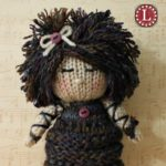 How to Add Big Hair to Your Knit Doll