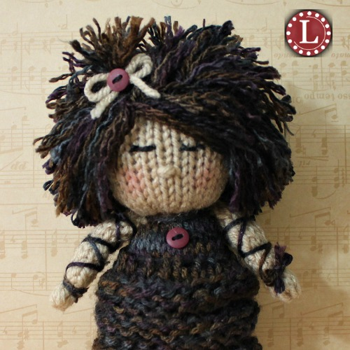 How To Add Big Hair To Your Knit Doll Loomahat Com