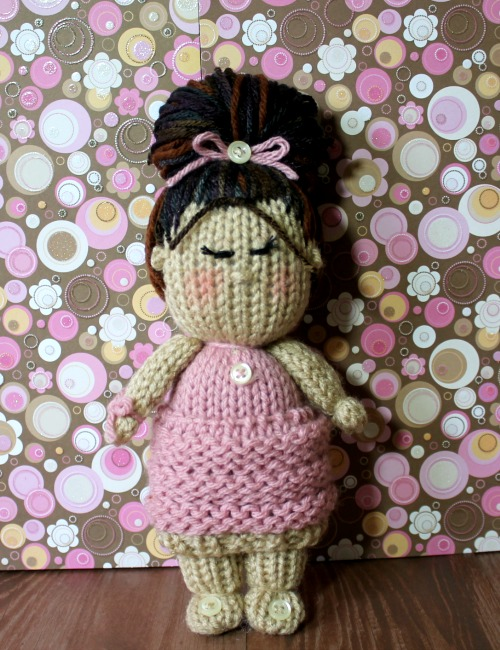 Cupcake Skirt Dolls Loom Knitting Pattern Video Loomahat