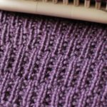 Rambler Stitch Loom Knitting Pattern and Video