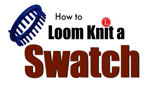 Knit a Swatch on a Loom