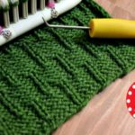 Caterpillar Stitch on a Knitting Loom