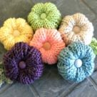 Loom Knit Flower Rib Stitch