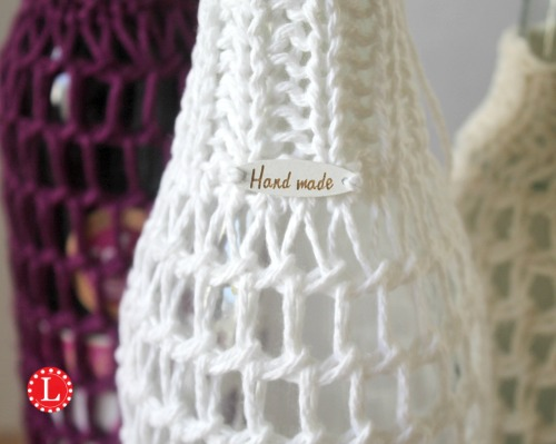 Wine Bottle Cover On A Round Knitting Loom Pattern Video Loomahat