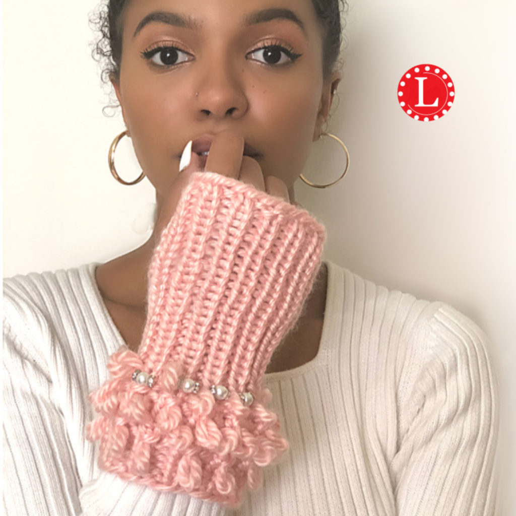 Loopy Stitch Gloves - LoomaHat com