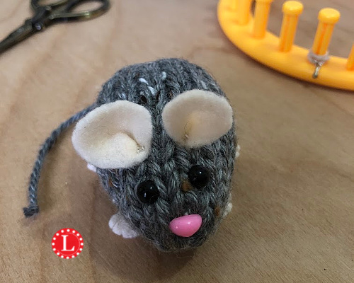 Baby Knitting Patterns Crochet Tiny Pink Forest Mouse Amigurumi ...   400x500