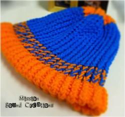 Easy Knitting Loom Mini Knitter Blue
