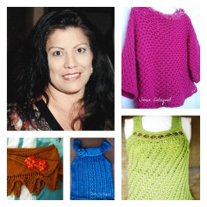 Loom Knit Sweaters By Sonia Cataquet