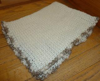 Basic Baby Blanket Folded