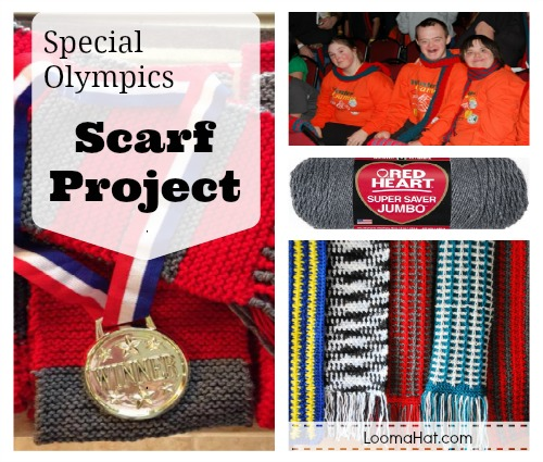 Special Olympics Scarf Project Loomahat Com