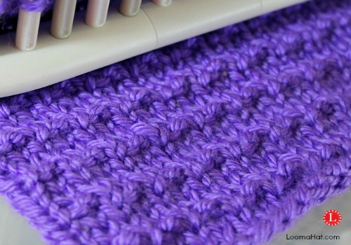 Andalusian Stitch On A Loom