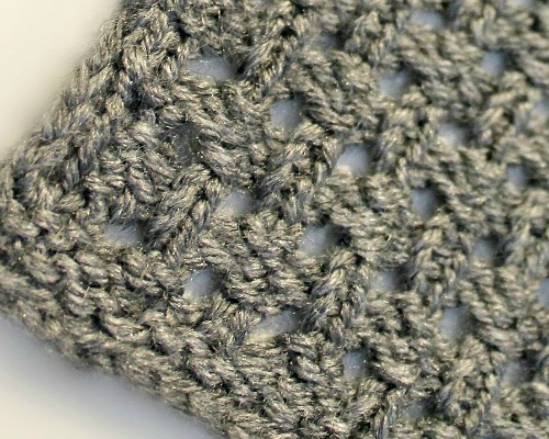 Open Weave Stitch - LoomaHat.com