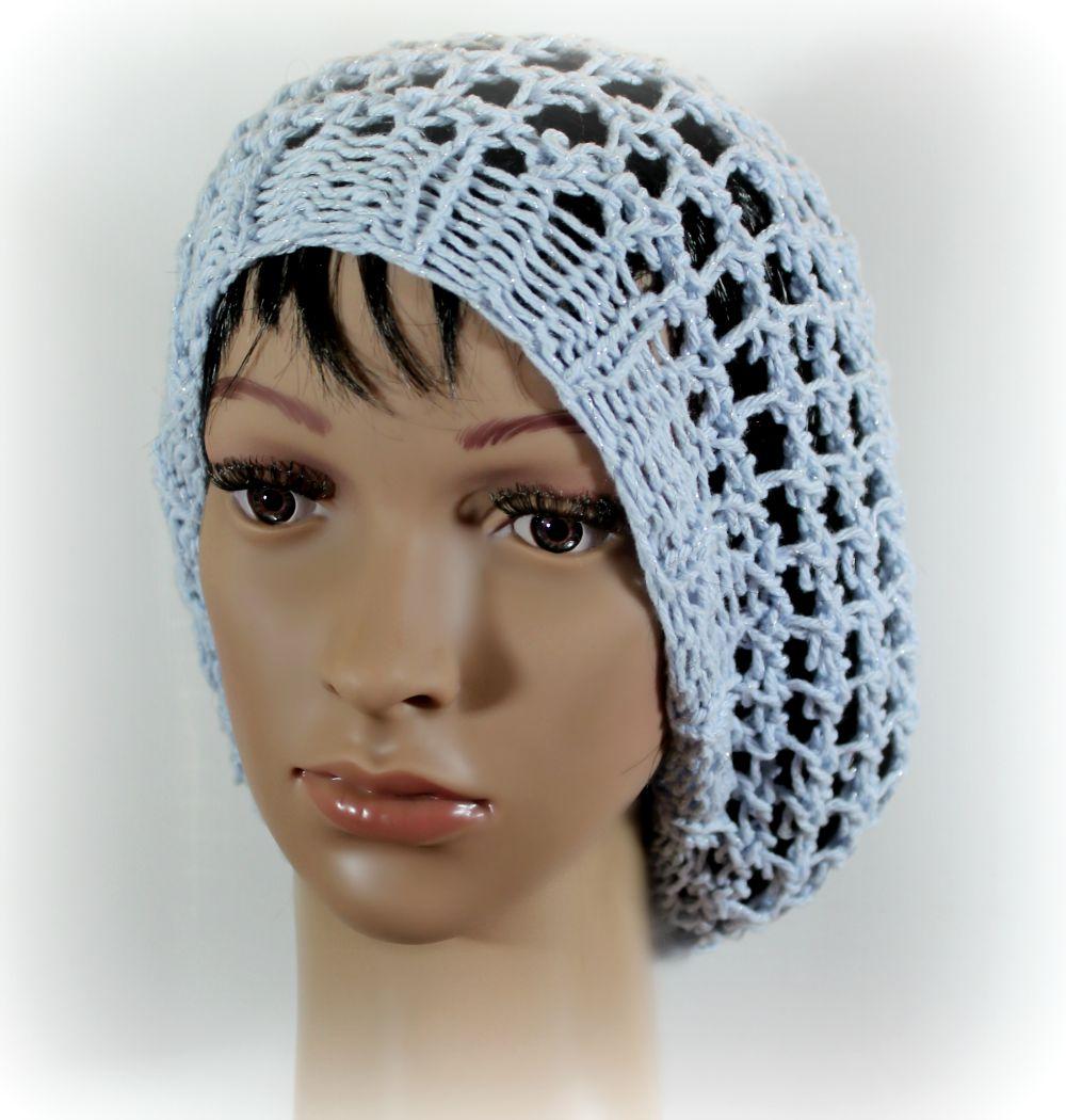 three step stitch slouchy hat