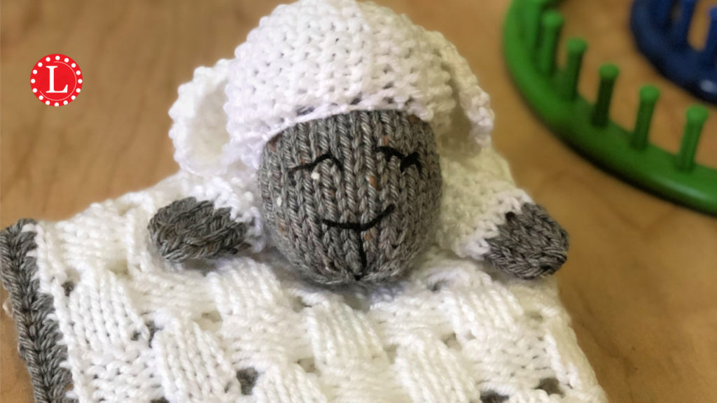 Lovey Blanket On A Knitting Loom Pattern Video Loomahat Com